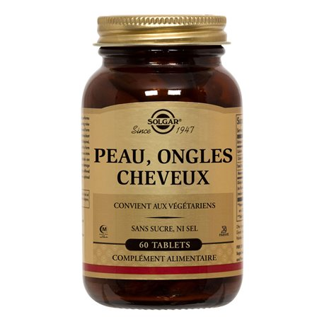 SOLGAR Pell Ungles Cabell 60 Càpsules