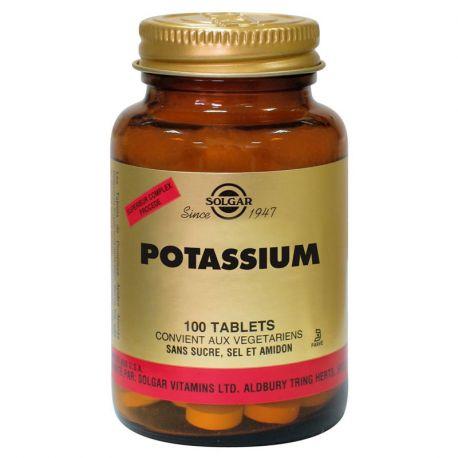 SOLGAR Potasio 100 Tabletas