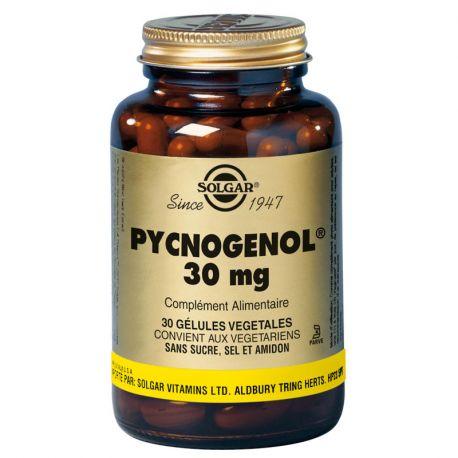 SOLGAR Pycnogénol 30 Gélules Végétales