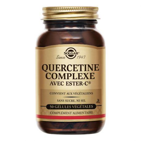 SOLGAR quercetina vegetal Complex Càpsules 50