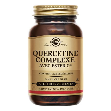 SOLGAR Quercétine Complexe 50 Gélules Végétales