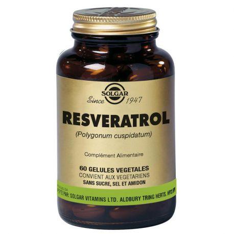 SOLGAR Reveratrol 60 Gélules Végétales