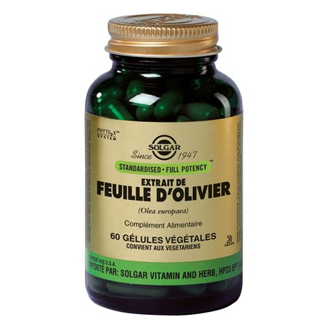 SOLGAR SFP Olive Leaf 60 cápsulas de Plantas