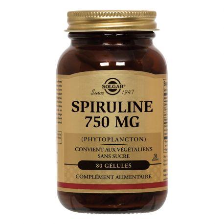 SOLGAR Spirulina Hawaii 750 mg Tabletas Caja de 100