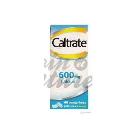 Caltrate 600mg TAULETES 60