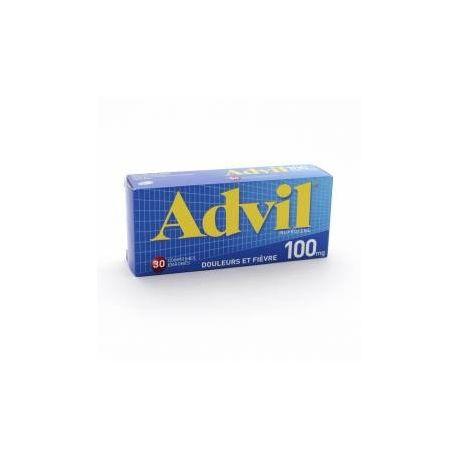 ADVIL 100MG COMPRIMES 30