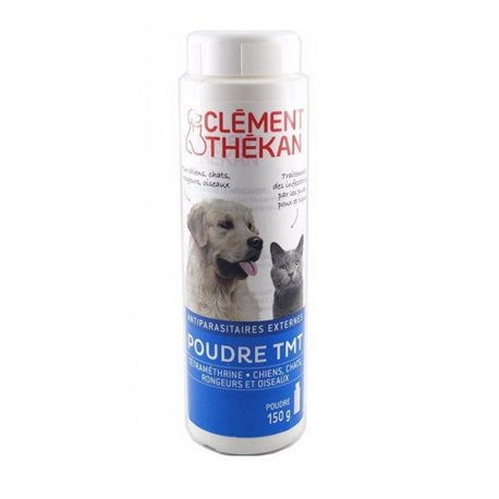 CLEMENT Thékan Tetramethrin BIRD CAT 150G Hundetier