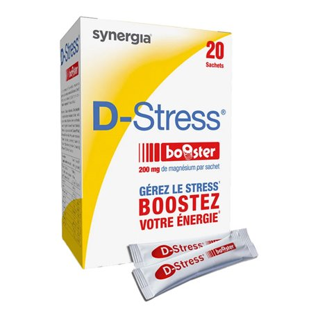 SYNERGIA D-STRESS FATIGUE 20 Booster Packs