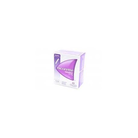 Nicorette Inhaler 10MG 42 PATRONEN