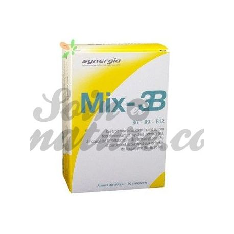 3B SYNERGIA MIX 90 TABLETS