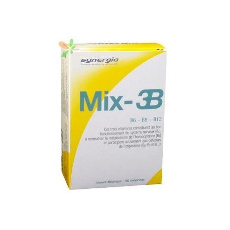 SYNERGIA MIX 3B 90 COMPRIMÉS