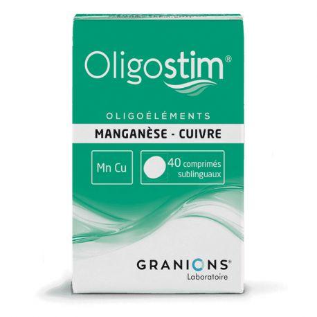 OLIGOSTIM MN-CU 40 CPR Boiron