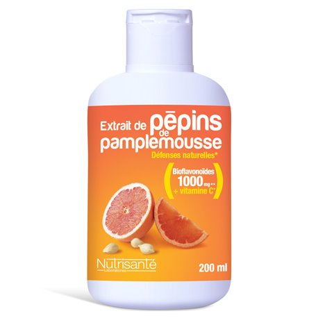 NUTRISANTE PEPIN Grapefruitextrakt 200ML