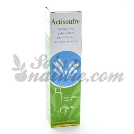 ACTISOUFRE nasale of orale spray 100ml