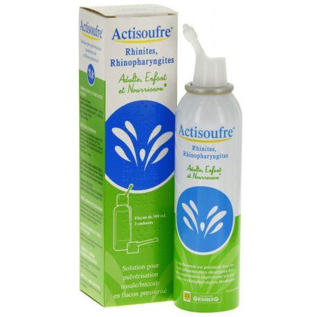 ACTISOUFRE Pulvérisation nasale ou buccale 100ml