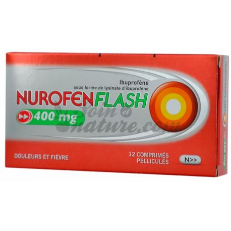 400MG TABLETS 12 NUROFENFLASH