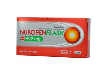 NUROFENFLASH 400 MG 12 tablets Pain and Fever