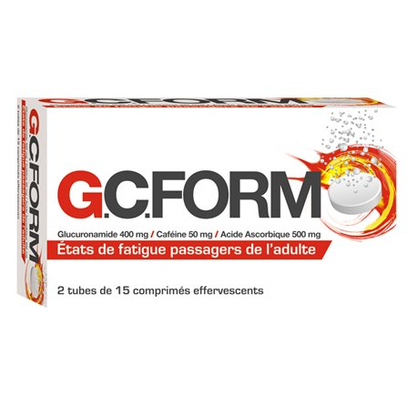 GCFORM 30 TABLETS EFERVESCENTS COOPER