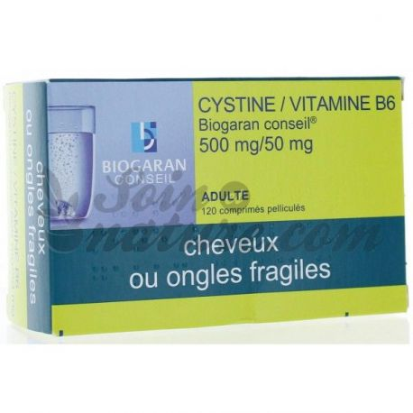 VITAMIN B6 CYSTINE 120 CPS BIOGARAN COUNCIL