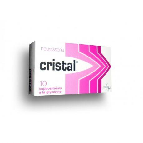 Glycerine zetpillen Zuigelingen CRISTAL