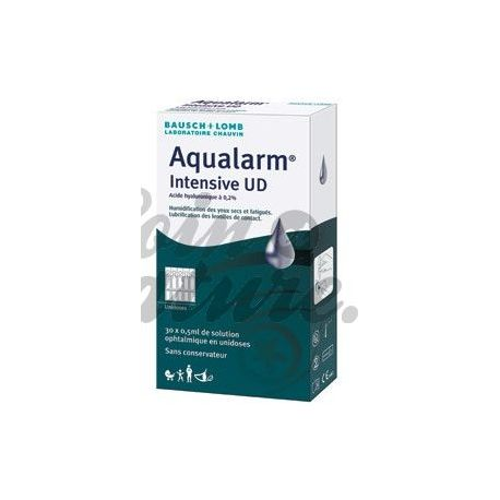 UD Aqualarm Intensiv Hyaluronsäure 0,2% Ophthalmic Solution Unidoses 30x0.5ml