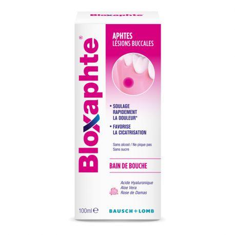 BLOXAPHTE Bain de Bouche Aphtes 100ML BAUSCH & LOMB