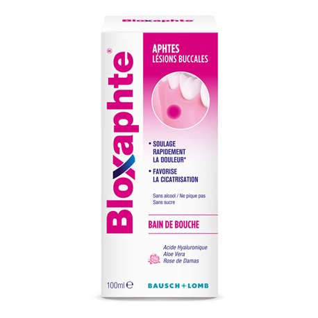 BLOXAPHTE Ulcere collutorio 100ML BAUSCH & LOMB