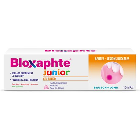 BLOXAPHTE JUNIOR GEL 10ML úlcera Bausch & Lomb