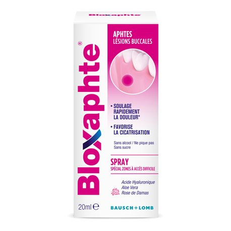 Bausch & Lomb BLOXAPHTE Bloxaphte adults 15ml Aerosol