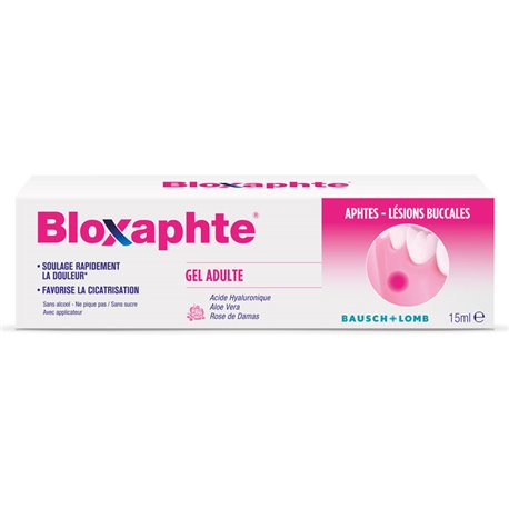 BAUSCH & LOMB Bloxaphte Gel Adulte 10ML