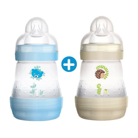 MAM Baby Bottle Green 2e leeftijd Debit Circus Fast 330 ml