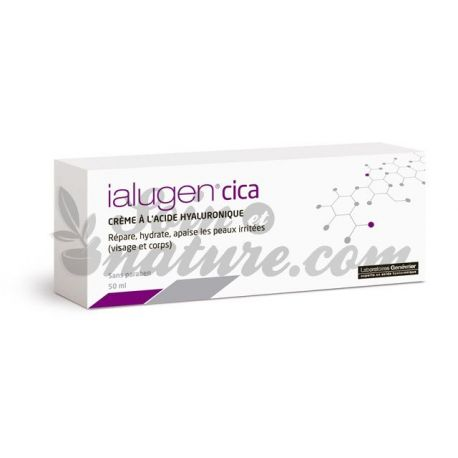 Juniper Ialugen crema cicatritzant amb 50 ml d'àcid hialurònic