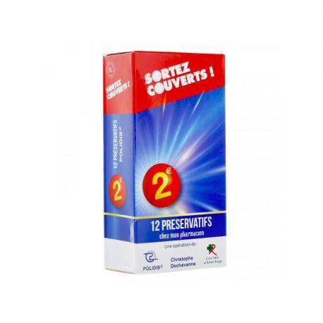 SORTEZ COUVERTS PRESERVATIF S BT 12