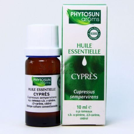 PHYTOSUN AROMS HUILE ESSENTIELLE DE CYPRES 10ML Cupressus sempervirens