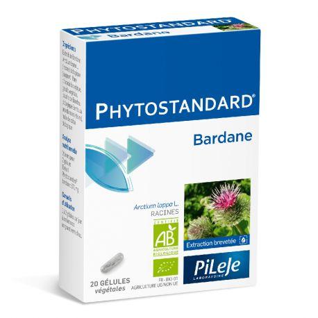 Phytostandard bardana PILEJE 20 CÁPSULAS