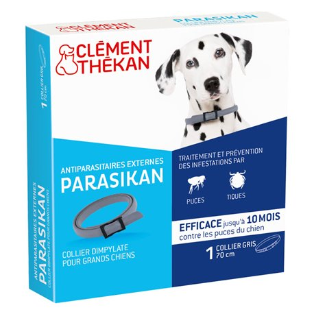 PARASIKAN Thékan COLLIER CLEMENT INSECTICIDE GROTE HOND