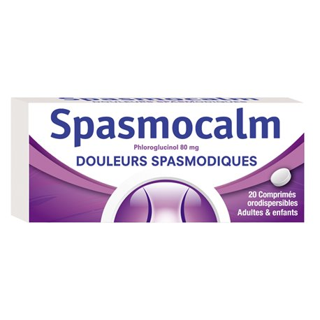 80mg SPASMOCALM 20 comprimits bucodispersables