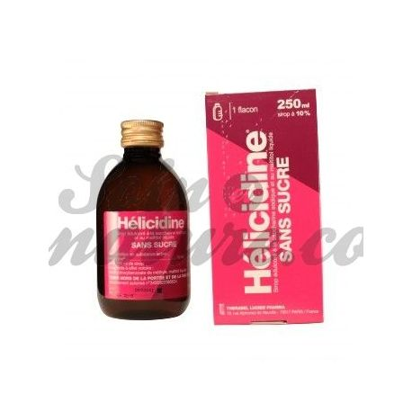 COUGH SYRUP helicidine SUGAR 250ML