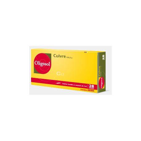 Oligosol Cobre (Cu) 28 BOMBILLAS Minerales y oligoelementos