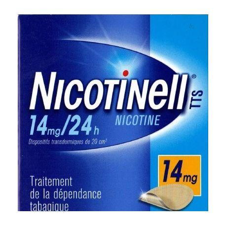 Adesivos de nicotina Nicotinell 14mg 7 24H