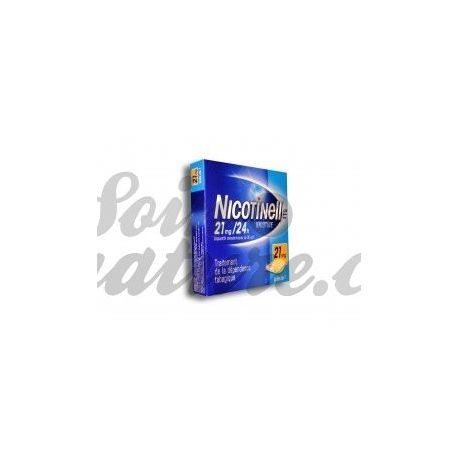 Adesivos de nicotina Nicotinell 21mg 7 24H