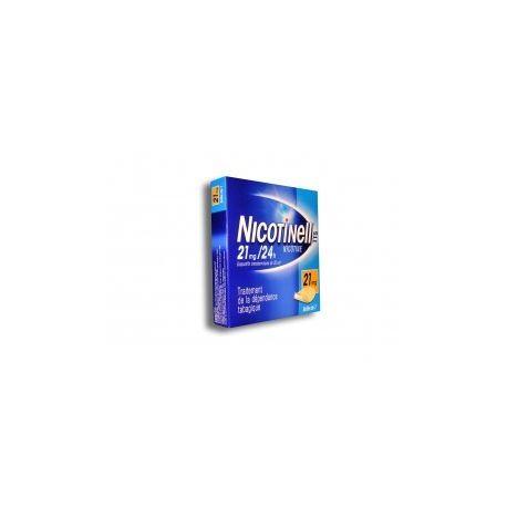 Nicotinepleisters Nicotinell 21mg 7 24H