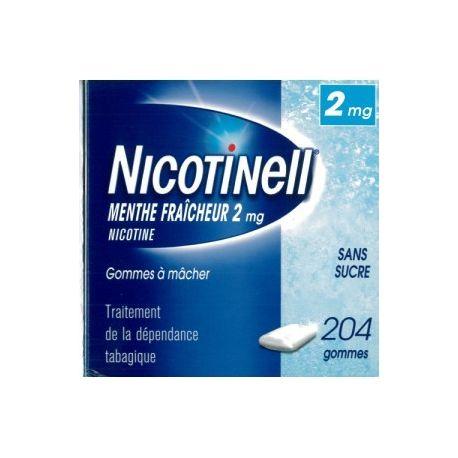 Nicotinell FRESH MINT 2 MG 204 goma de mascar