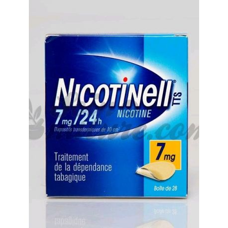 NICOTINELL 7MG 28 PATCHS 24H