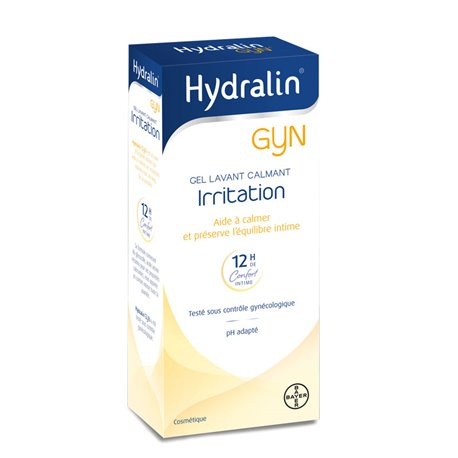 HYDRALIN GYN 400ML intieme hygiëne EN TOILET irritaties ITCH
