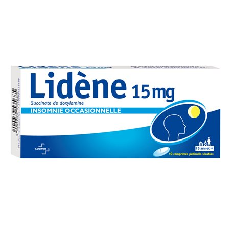 Ylideen 15MG doxylamine 10 scoorde tabletten