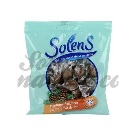 SOLENS BONBON SEVE DE PIN 100G