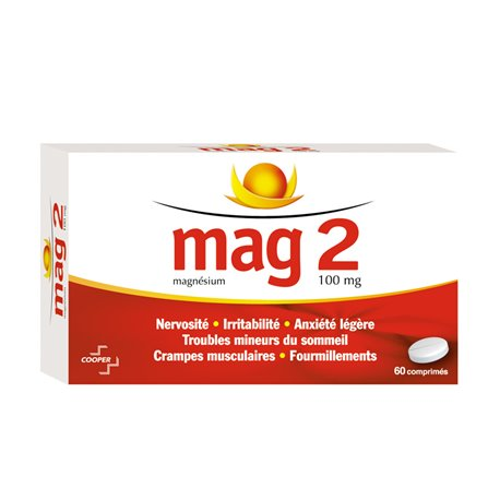 MAG 2 100MG TABLETS 60