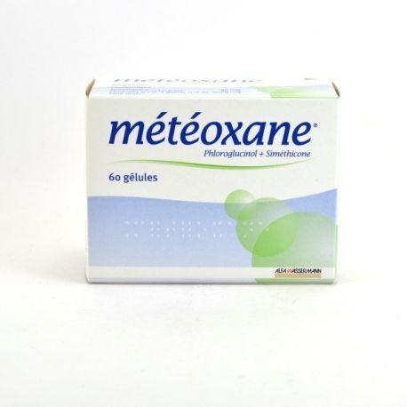 Météoxane Dolor de vientre Distensión con la caja de 60 cápsulas