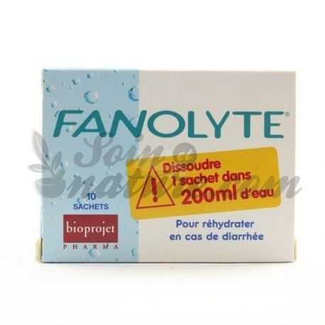 FANOLYTE PDR SACH 4,5 G 10 BAGS